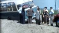 Broken Down Bus Archival video