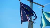 Broken Flag Of The European Union video