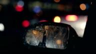 Broken side-view mirror, passing tramway video