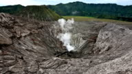 Bromo crater video