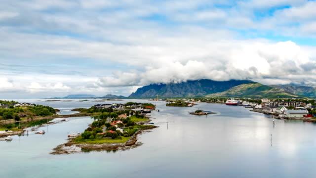 Bronnoysund, Beautiful Nature Norway video