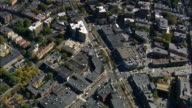 Brookline - Aerial View - Massachusetts,  Middlesex County,  United States video