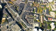 Brookline  - Aerial View - Massachusetts,  Norfolk County,  United States video