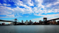 Brooklyn and Manhattan Bridge video