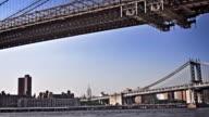 Brooklyn and Manhattan Bridge video