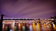 Brooklyn and Manhattan Bridges, New York City video
