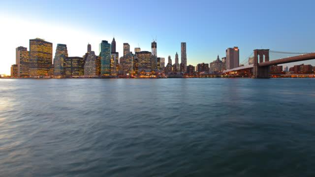 Brooklyn bridge and Downtown video