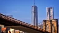 Brooklyn bridge and Freedom Tower video