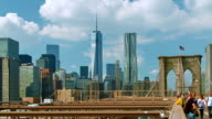 Brooklyn bridge and freedom tower video
