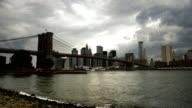 Brooklyn Bridge - Clouds Time Lapse video
