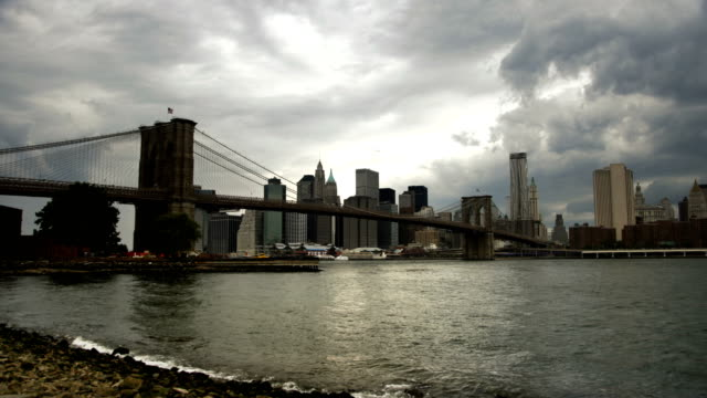 Brooklyn Bridge - Clouds Time Lapse video
