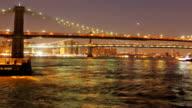 Brooklyn Bridge Dawn time lapse video