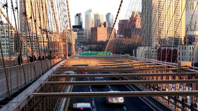 HD VDO :Brooklyn Bridge in New York. video