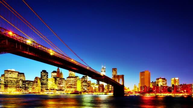 Brooklyn Bridge, New York City. video