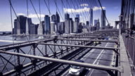 Brooklyn bridge, New York, Manhattan, USA video