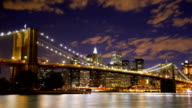 Brooklyn Bridge New York Time Lapse video