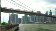 Brooklyn bridge, New York, USA video