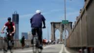Brooklyn Bridge, NYC (Tilt shift lens) video