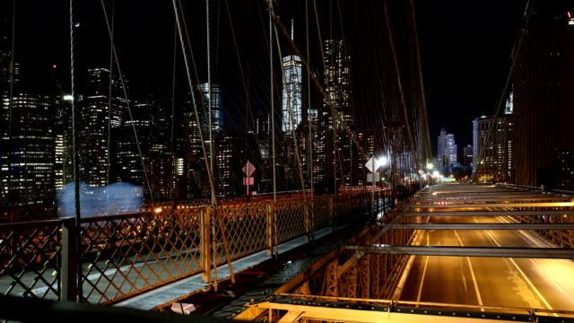 Brooklyn Bridge Scene Time Lapse video
