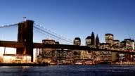 Brooklyn Bridge Timelapse, New York video