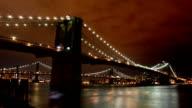 Brooklyn Bridge Timelapse video
