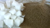 Brown and White sugar video