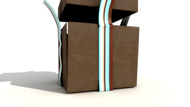 Brown Gift Box video