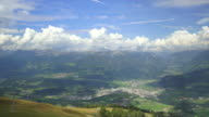 HD Bruneck in South Tyrol and its surroundings TL video