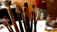 Brushes and painter video