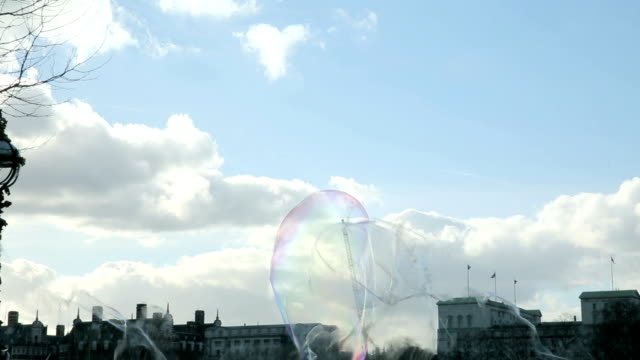 Bubbles on Southbank video