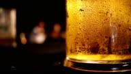 Bubbling Beer in Restaurant video