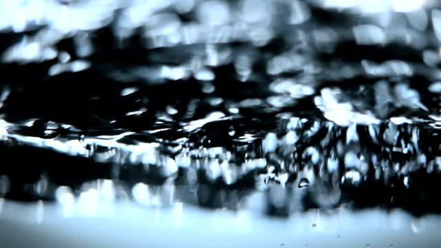 Bubbling water video