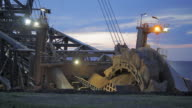 Bucket Wheel Excavator video