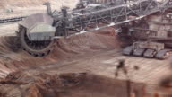 Bucket-wheel excavator video