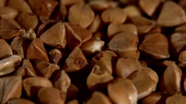 Buckwheat, background, rotation, close up video
