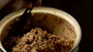 buckwheat porridge with butter video