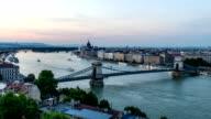 Budapest city skyline, Hungary video