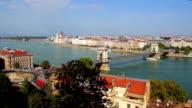 Budapest cityscape video