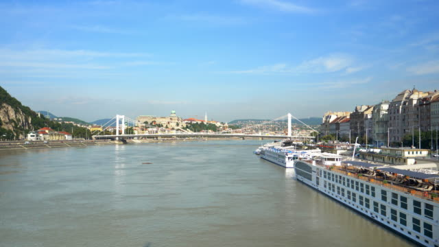 Budapest Danube Riverbank from the South video