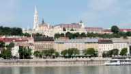 Budapest Danube riverside Fisherman bastion video