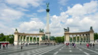 Budapest Heroes Square video