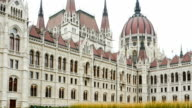 Budapest Hungarian Parliament Building video