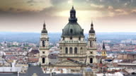 Budapest Parliament Building, Hungary, 4k video