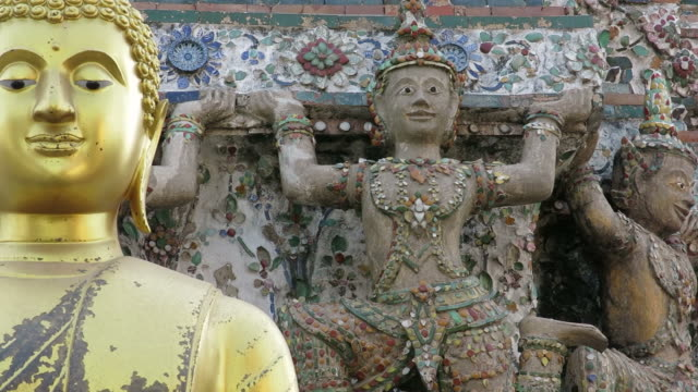 Buddha at Wat Arun video