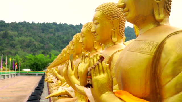 Buddha Phuttha Utthayan Makha Bucha Anusorn, Nakhon nayok, Thailand video