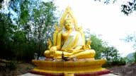 Buddha statue video