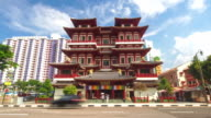 Buddha tooth relic temple, Singapore video