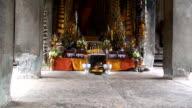 Buddhist candle video