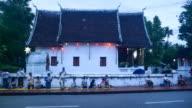 Buddhist Monks in Luang Prabang, Laos video
