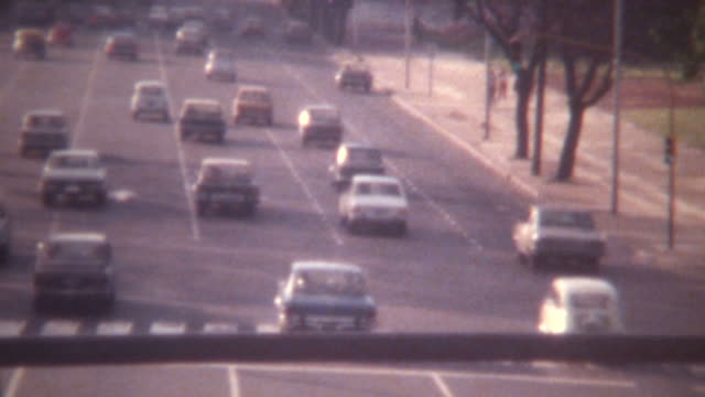 Buenos Aires Street Traffic 1973 video